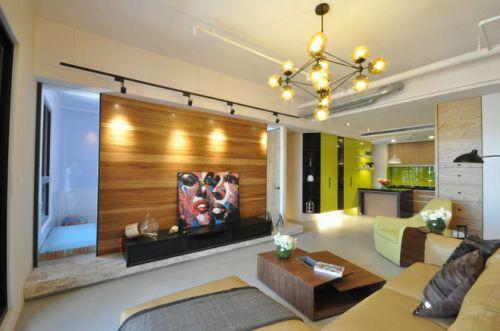 现代简约客厅室内装饰设计效果图